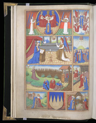 Scenes From The Life Of The Virgin Mary And Christ, In A Book Of Hours